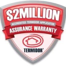 $2 million termidor assurance warranty ipswich area qld 4305